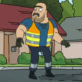 Profile picture of Unibrow Sanitation Worker